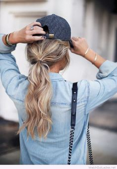 Cool fall blonde hair color
