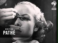 Not just pretty faces: Thirties film reel reveals how make-up artists used geometry to get that Old Hollywood look   Daily Mail Online