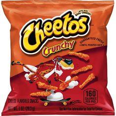 Cheetos Crunchy Flamin' Hot Cheese Flavored Snacks 1 Ounce (Pack of Cheetos Cheese, Cheese Snacks, Fruit Snacks, Nacho Cheese, Cheetos Puffs, Healthy Snacks, Hot Snacks, Cheese Sauce, Cheetos Flavors