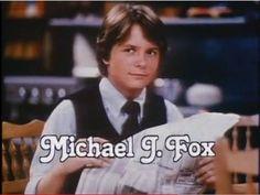 Michael J. Fox as Alex P. Keaton... my first celebrity crush!