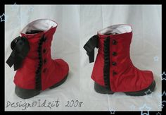 Zombie Boot spats by *Idzit on deviantART