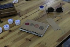 Design the cover of your notebook with Semiofest stamps, Shanghai 2014
