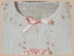 Lillian's Heirlooms -- hand sewn cotton and linen layettes, bonnets, blankets Christening Dresses, Vintage Baby Clothes, Embroidered Clothes, Heirloom Sewing, Baby Girl Dresses, Baby Design, Baby Patterns, Sewing Clothes, Hand Sewn