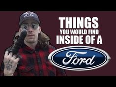 nice Car and Truck videos - THINGS YOU WOULD FIND IN A FORD #Cars &  #Trucks