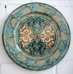 Islamic Decor, Islamic Art, Ceramic Pottery, Pottery Art, Exotic Art, Arabic Art, Andalusia, Moorish, Civilization