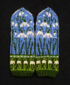 Knitted Mittens Pattern, Knit Mittens, Fair Isle Knitting, Hand Knitting, Knitting Ideas, Ravelry, Knit Crochet, Projects To Try, Weaving