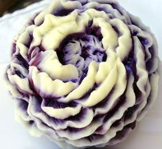 SOAP Wine Peony with Cream Highlights Touch of by thecharmingfrog, $7.00