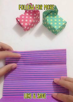 Upcycled Crafts, Diy Home Crafts, Creative Crafts, Fun Crafts, Kids Origami, Paper Crafts Origami, Easy Paper Crafts, Fabric Crafts, Diy Projects For Men