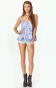carson top by SHOW ME YOUR MUMU #planetblue