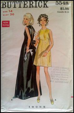 Butterick 5548 Misses' One-Piece Evening Dress by ThePatternShopp