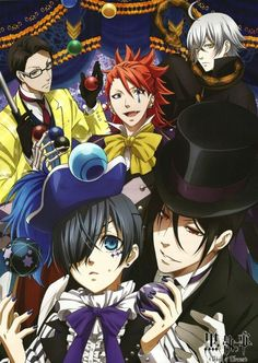 Kuroshitsuji ~~ Book of Circus. Very interesting arc. Hope the anime does the manga justice. (I'm quite expectant that it will)