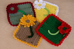 Ravelry: Four Seasons Dishcloths pattern by Kenneth Cormier