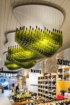 if you Ever had Any doubt about the Store you're in...Just Look UP! Wine Republic in Melbourne