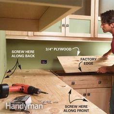Installing Tile Countertops | The Family Handyman