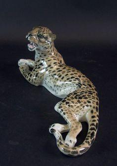 Gepard - Eichwald um 1920 - 38cm