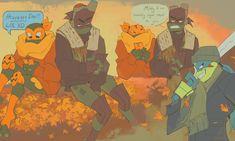 rise of the teenage mutant ninja turtles posts - Hobermen Ninja Turtles Art, Cute Turtles, Baby Turtles, Teenage Mutant Ninja Turtles, Turtle Games, Turtle Tots, Fandom Jokes, Art Reference Poses, Cute Art