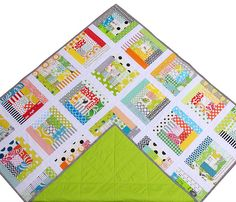 Red Pepper Quilts: Scrappy Log Cabin Quilt II
