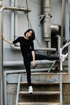 iamalexfinch:  #reebok HAN JI YEON  WWW.IAMALEXFINCH.COM