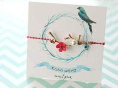 Χειροποιήτα Μαρτάκια - Χειροποίητα Μαρτάκια Βραχιολάκια - Βραχιόλια Για Μάρτη Bracelet Making, Cross Stitch, Christmas Ornaments, Cords, Holiday Decor, Accessories, Jewelry, Crossstitch, Xmas Ornaments