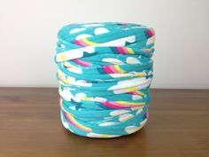 Rainbow TShirt Yarn. Chunky Bulky Thick by TShirtYarnBoutique