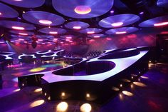 Blue Frog Club in Mumbai, India. Really cool looking curvy place.