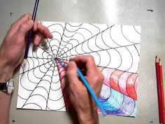 In this lesson 5th grade students learn about coloring in our Op Art picture. We discuss pattern, repetition, value and shading. Student use and A color and ...