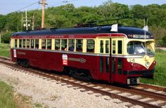#Philadelphia Suburban Transportation Company Red Arrow Lines 14 is one of two St. Louis-built #streetcars that were selected for preservation here at the PA Trolley #Museum. Work on 14 was the most complex trolley restoration undertaken to date by our crew; volunteers began work on this project in the summer of 1997 and returned to car to service at the museum in June 2004. Click here to learn more about car 14: http://www.pa-trolley.org/Roster/14.htm
