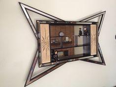 1950s Mid Century Modern Shadow Box Eames Era Atomic Shelf