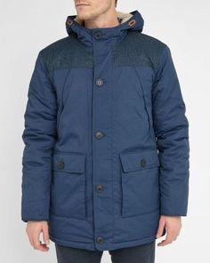 #Parka blu scuro alaska  ad Euro 51.60 in #Selected #Abbigliamento cappotti giacconi
