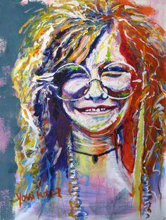 Saatchi Online Artist yossi kotler; Painting, janis joplin #art