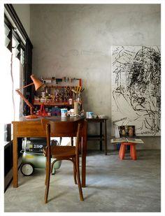 artist studio_work space