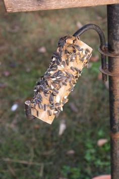 sun butter bird feeder
