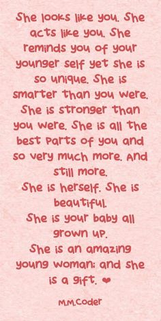 Mother Daughter Quotes, I Love My Daughter, Mother Quotes, Kids Growing Up Quotes, Daughter Growing Up Quotes, My Children Quotes, Quotes For Kids, Mommy Quotes, Family Quotes