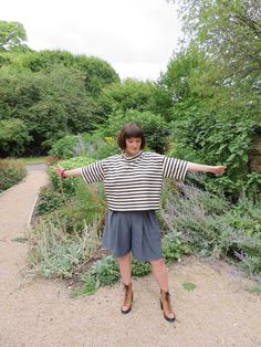NorseOtter: Winslow Culottes, Burda Top, and When Gift Sewing Goes Wrong. Sprained Ankle, Wide Leg Pants, Diy Fashion, Sewing, Gifts, Closet, Outfits, Tops, Wide Leg Trousers