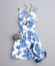 Everyday New Fashion: Pretty Summer Dress