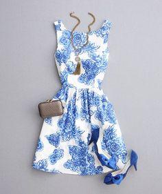 Everyday New Fashion: Pretty Summer Dress
