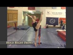 Ideas for coaches to add flexibility to their gymnasts every day workout routines in order to improve posture, dance and overall presentation. Gymnastics Warm Ups, Gymnastics Levels, Gymnastics Coaching, Gymnastics Training, Flexibility Test, Gymnastics Flexibility, Flexibility Training, Improve Posture, Train Hard