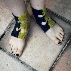 Garudasana Knit Yoga Socks #yogasocks
