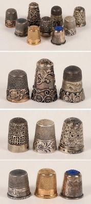 lovely thimbles....great collection idea