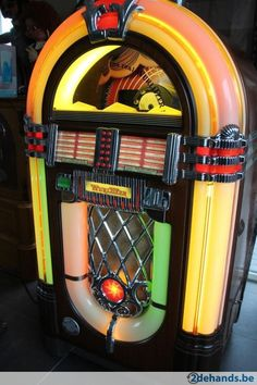 Wurlitzer 1015 one more time 100 cd jukebox - Te koop