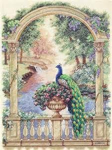 Dimensions - Majestic Peacock