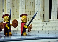 Greek! #LEGO Yet this is NOT Sparta!!