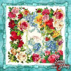 #eşarp #eşarpdeseni #eşarptasarımı #eşarpdesinatörü #dijitaleşarp #dijitaltivilesarp #yazma #yazmadeseni #tülbentdeseni #yemenideseni… Pattern Painting, Pattern Art, Pattern Design, Print Design, Scarf Design, My Portfolio, Heart Art, Vintage Flowers, Pattern Fashion