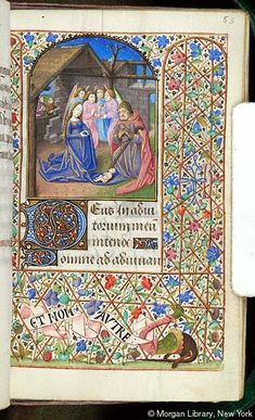 Book of Hours, MS G.1.I fol. 53r - Images from Medieval and Renaissance Manuscripts - The Morgan Library & Museum