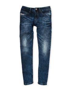 (Boys 8-20) Belther-J Regular Slim-Tapered Jeans