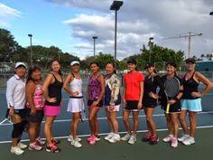 さとうあつこのハワイ不動産: Honolulu Tennis League 決勝戦