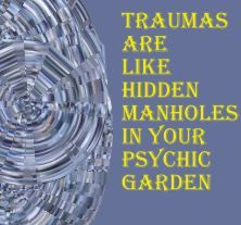 """As we learn to address """"trauma"""", we find that we build powerful """"resilience."""" that we can apply to all areas of our lives. Learn to work with mindBody Tools. FREE mp3 programs each month on my website below. Have a look at Building Resilience."""
