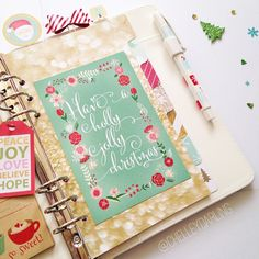 plannerdarling:  Hello, hello darlings! It's been a while! I have a special Christmas treat for you coming up in a little while. An update for all things will be going out in a newsletter and blog post over the weekend - if you haven't already, please head over to chelleydarling.com and sign on up :) link in bio! ❤️