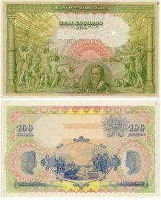 100 Escudos I, 1918