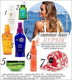 Summer Hair Repair